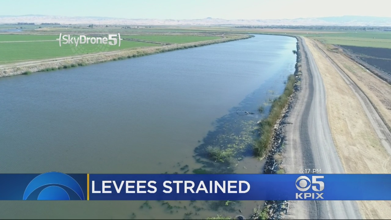 Summer Runoff Strains California Levees, Displaces Hundreds