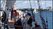 Family sets sail on Toronto tall ship