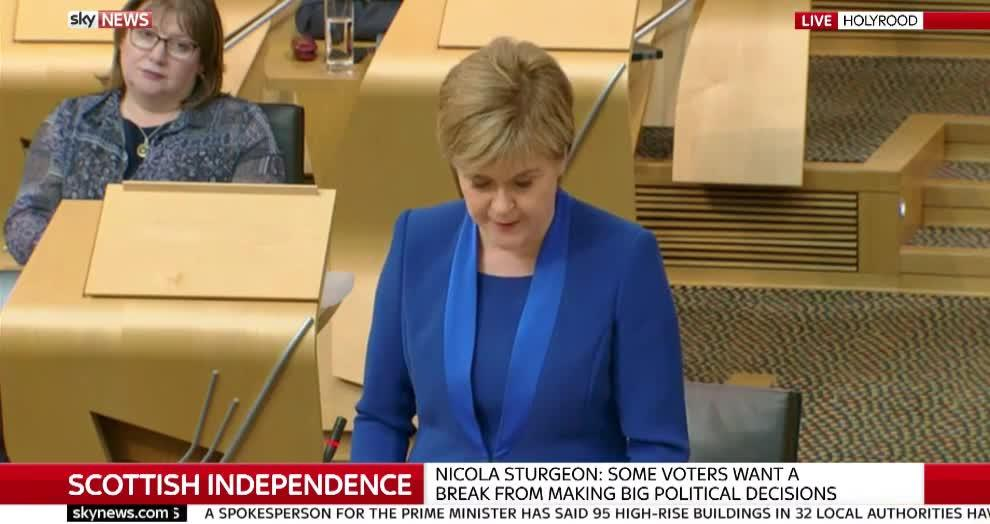 Second Scottish Independence Referendum Delayed By Nicola Sturgeon In Wake Of Election Losses
