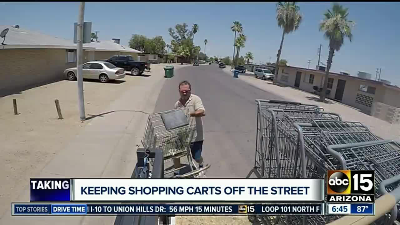 Phoenix looking to double price on stray shopping carts