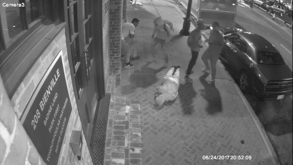 Brutal New Orleans mugging caught on video