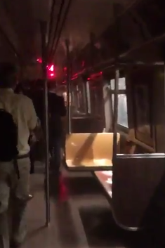 Commuters Evacuate After A Train Derails in Upper Manhattan