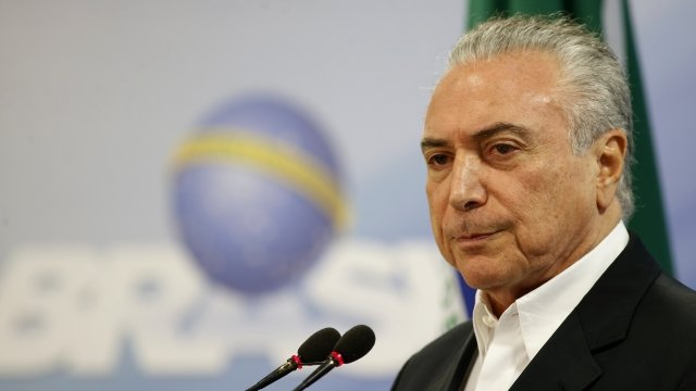 Brazil's President Charged With Corruption, Accepting Bribes