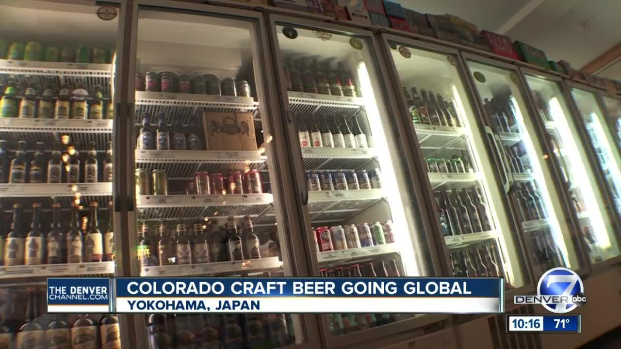 Colorado's craft beers are showing up on Japanese shelves as craft brew craze heads overseas