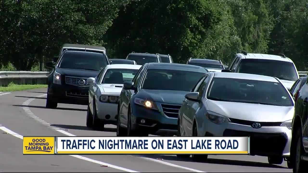 New residents adding to the traffic problem on East Lake Road