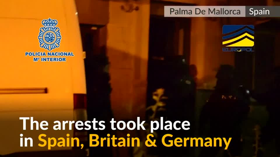 Spain, Britain and Germany make six arrests over Islamist militant links