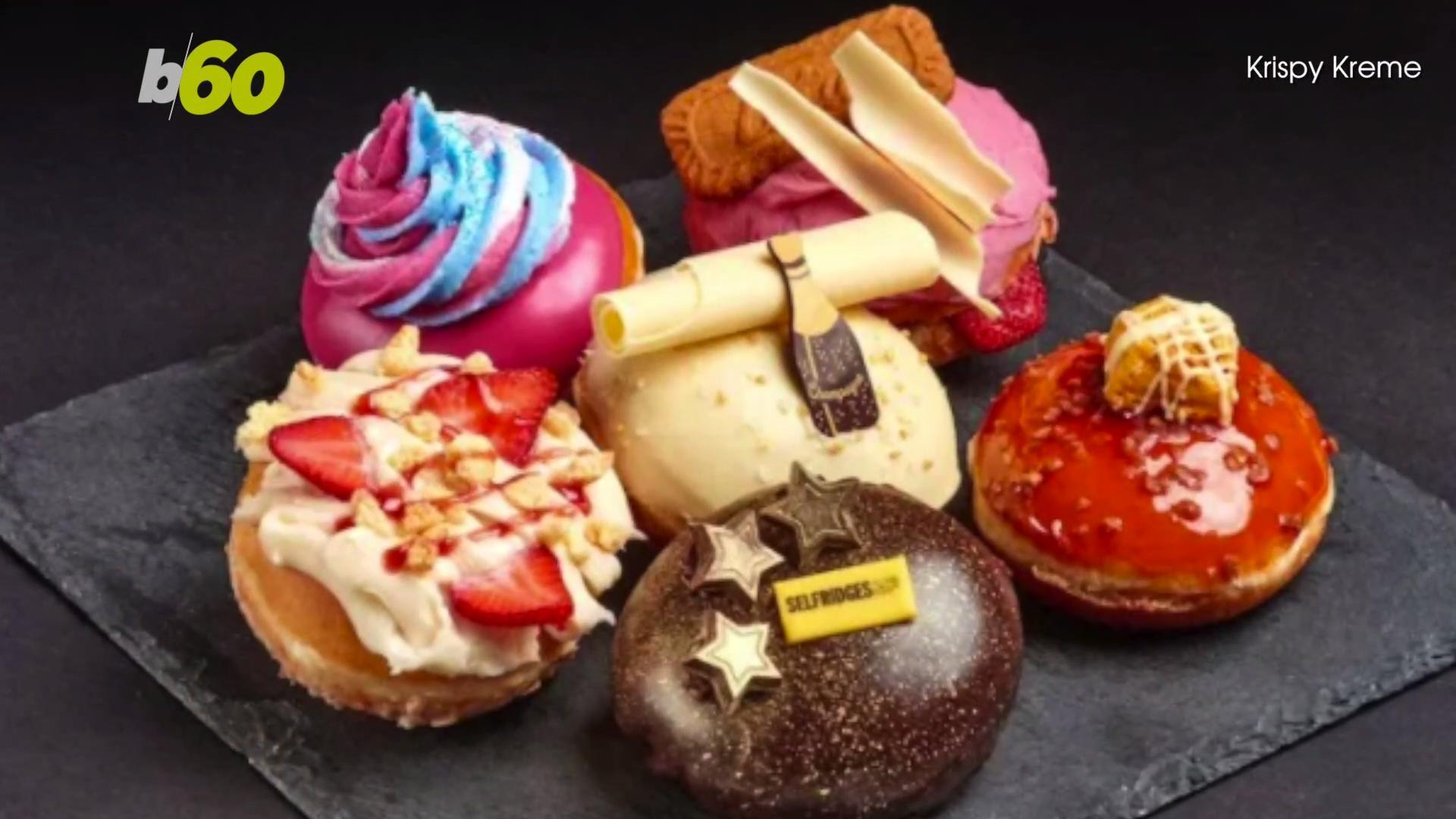 Krispy Kreme Releases Exclusive Champagne Donut