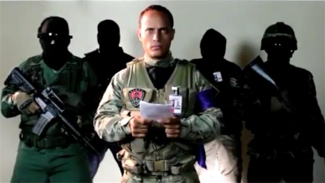 Who Is the Venezuelan Policeman Behind Alleged Helicopter Attack?