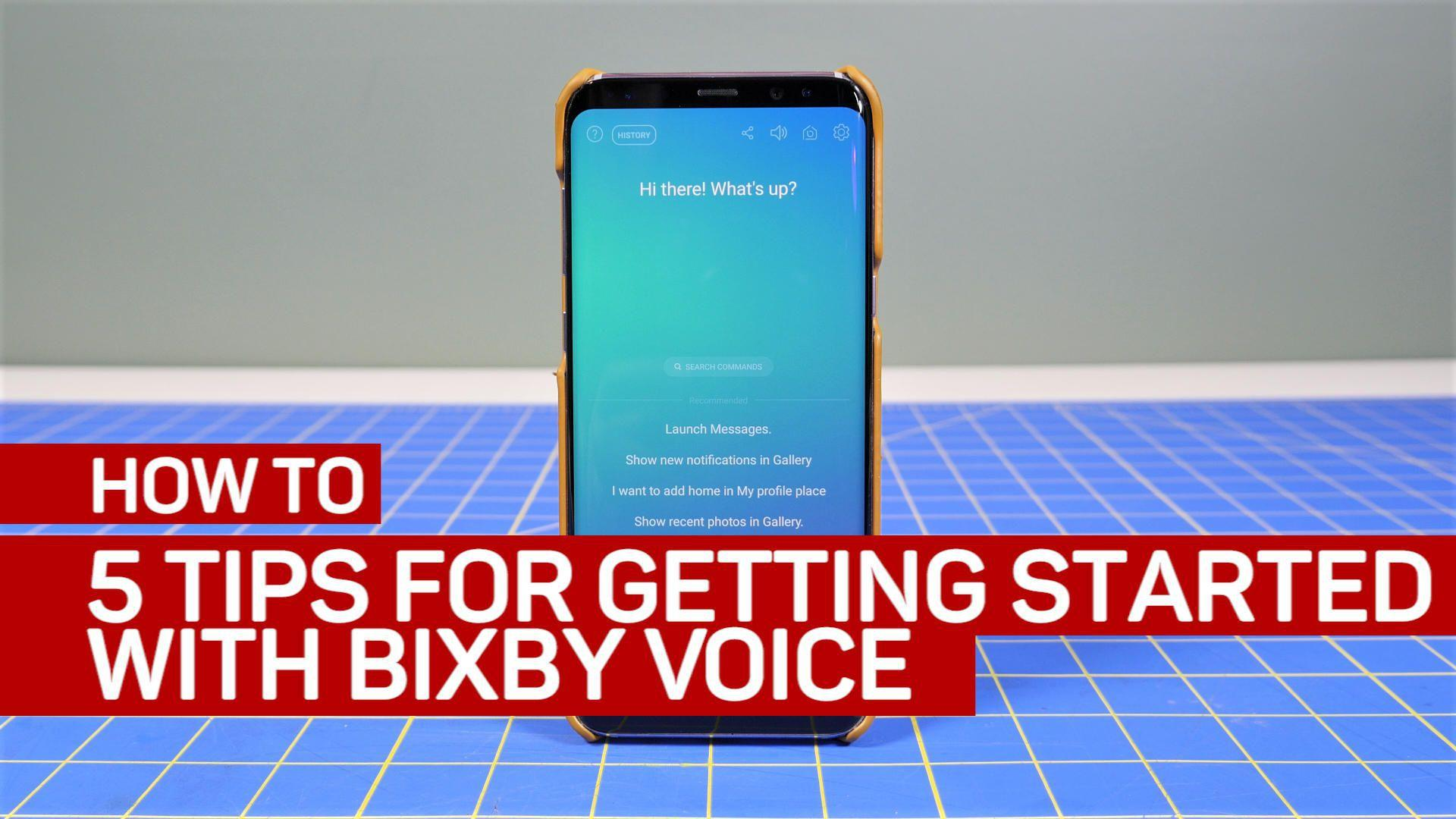 5 tips for getting started with Bixby Voice