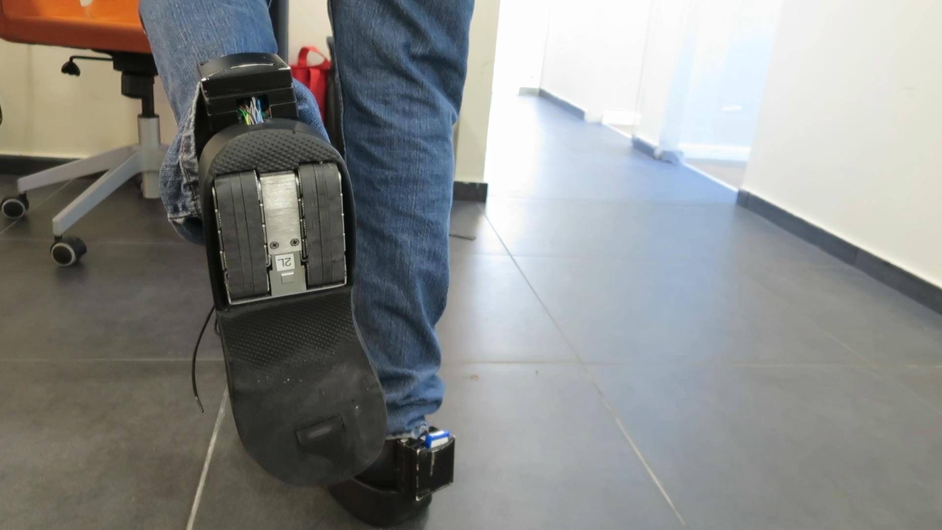 The B-Shoe Hopes To Prevent Seniors From Falling Down