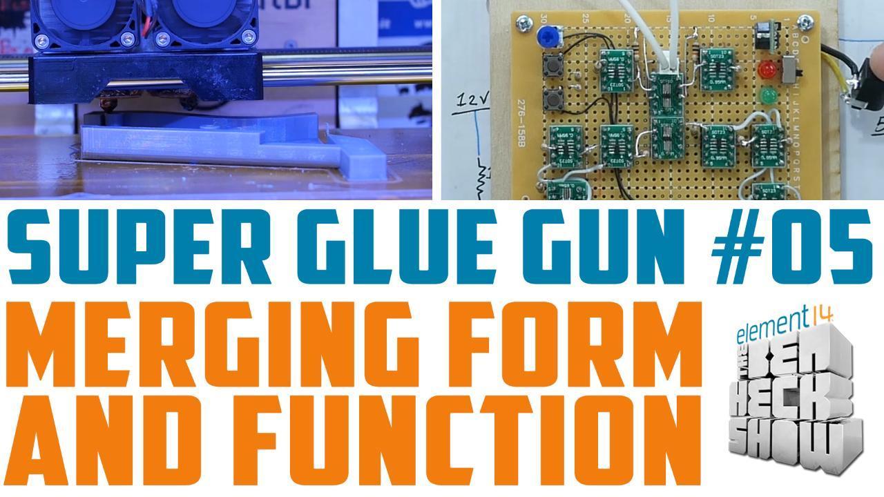 The Ben Heck Show - Episode 298 - Super Glue Gun 05: Hall Effect Sensor Hysteria!