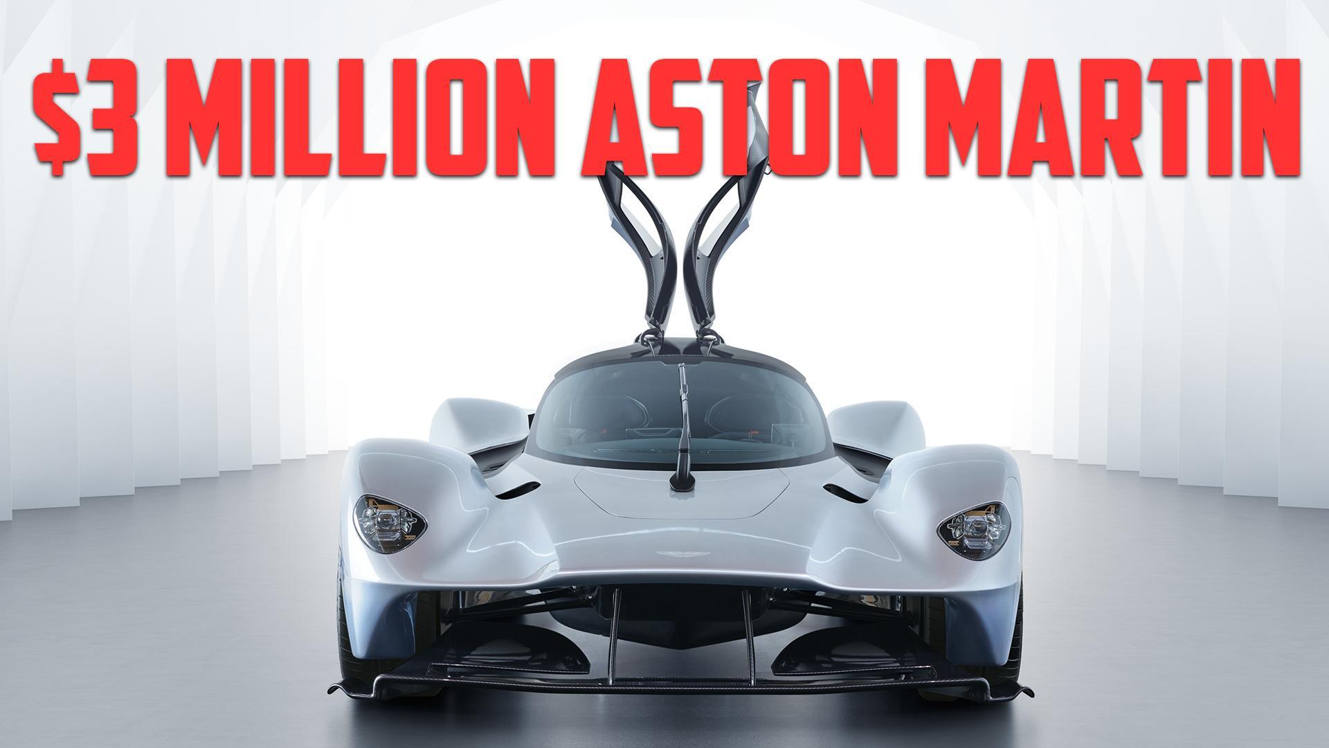 the aston martin valkyrie sounds like a formula 1 car - autoblog