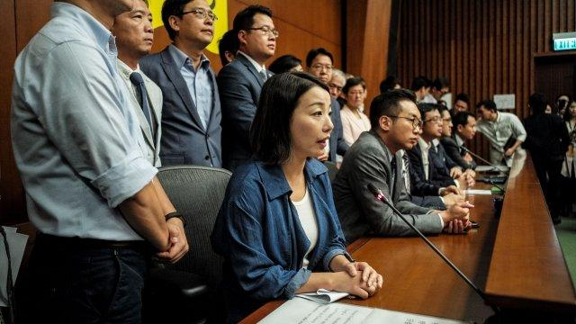 Hong Kong Court Fires Pro-Democracy Lawmakers Over Oaths
