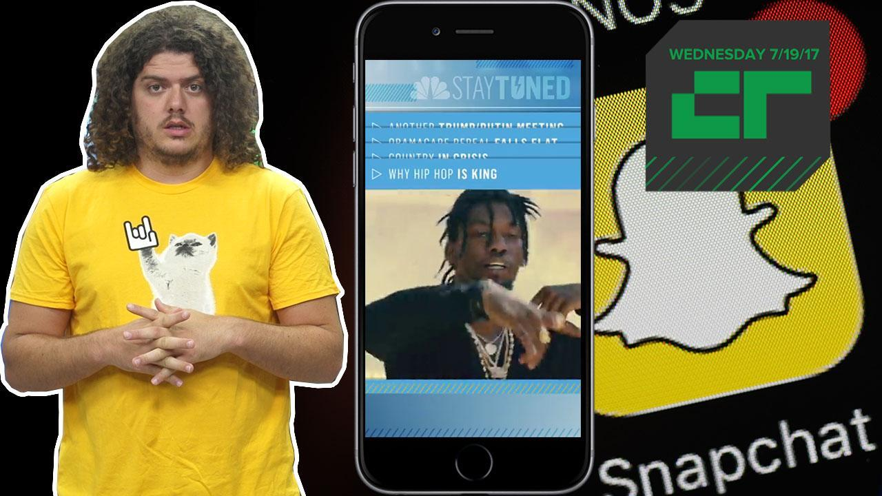 Crunch Report | NBC Launches News Broadcast For Snapchat
