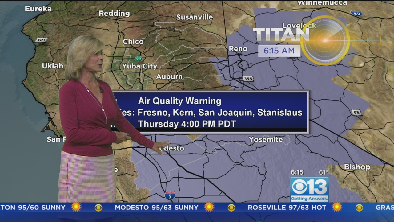 Morning Forecast - July 20, 2017