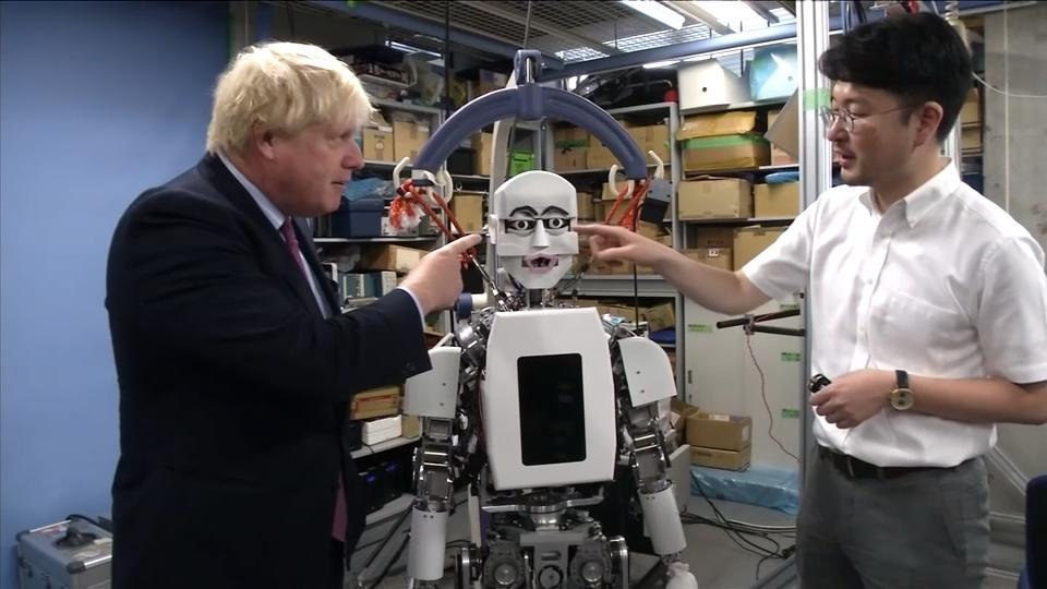Boris Johnson's bionic diplomacy in Japan