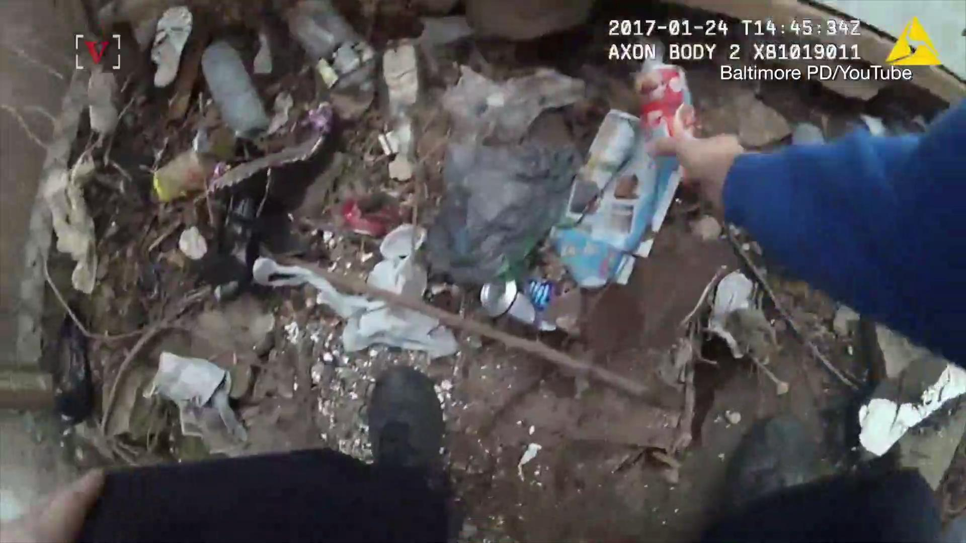 Body Cam Footage Shows Baltimore Officer Reportedly Planting Drugs