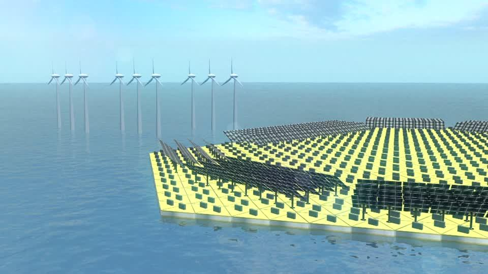 The Netherlands tests artificial floating islands to expand amount of liveable space
