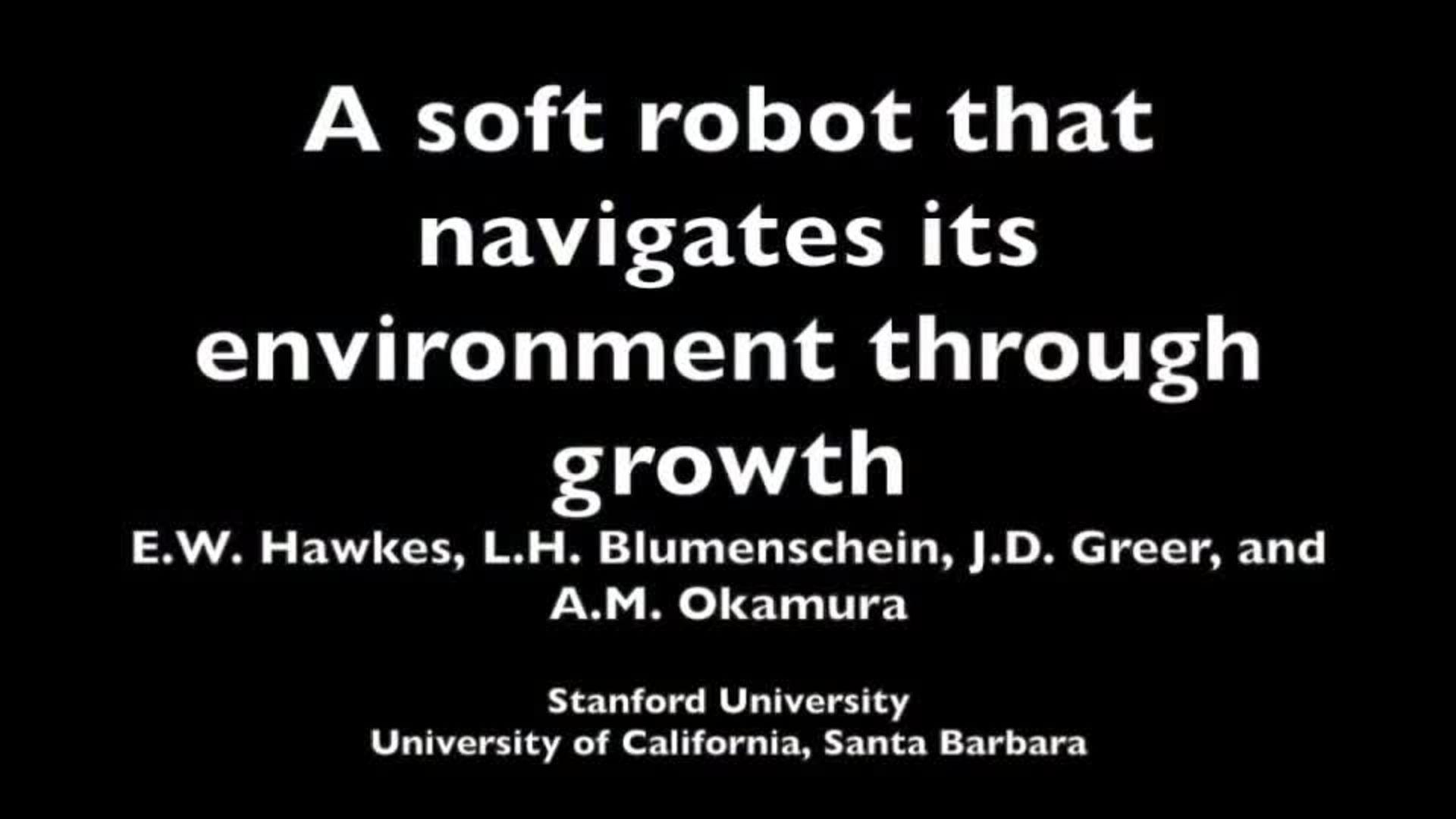 Soft Robot Growing | Ars Technica