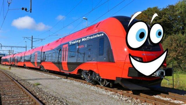 Trainy McTrainface: Public Votes to Name Swedish Train