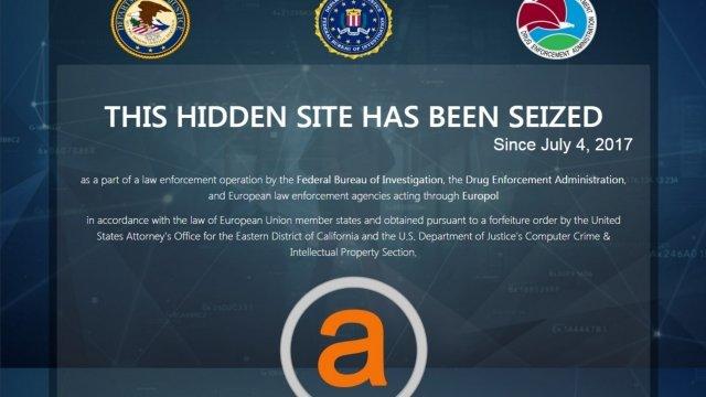 Online 'Dark Market' AlphaBay Is Shut Down