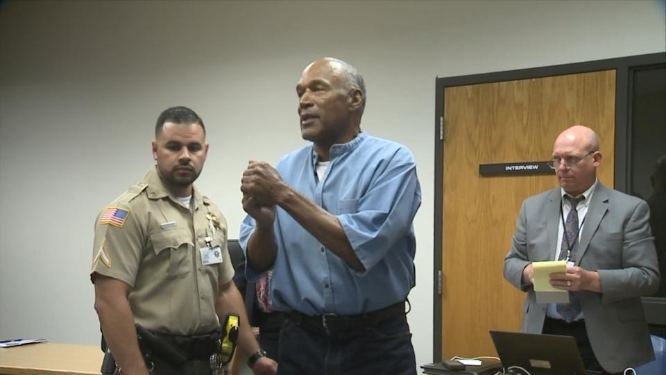 O.J. Simpson wins parole