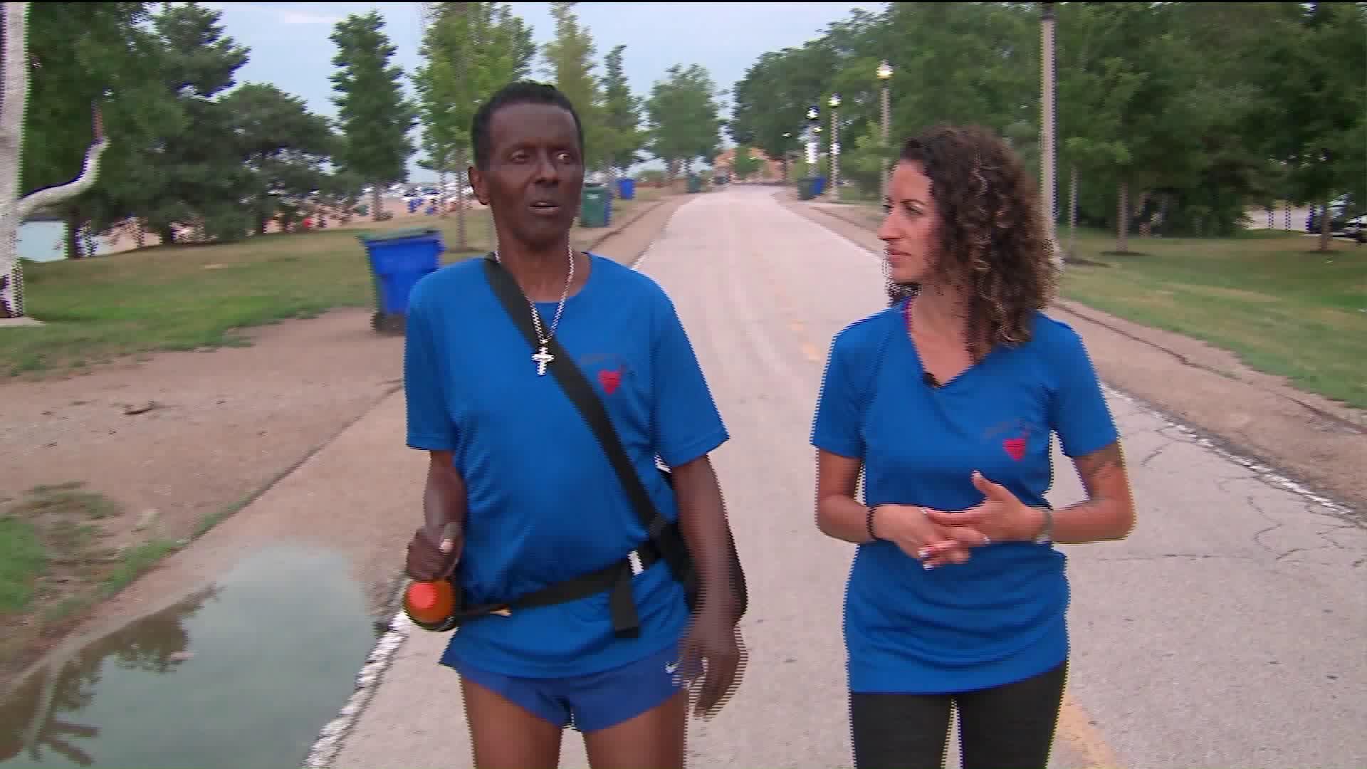 Quadriplegic Man Defies the Odds, Plans to Run 20th Marathon
