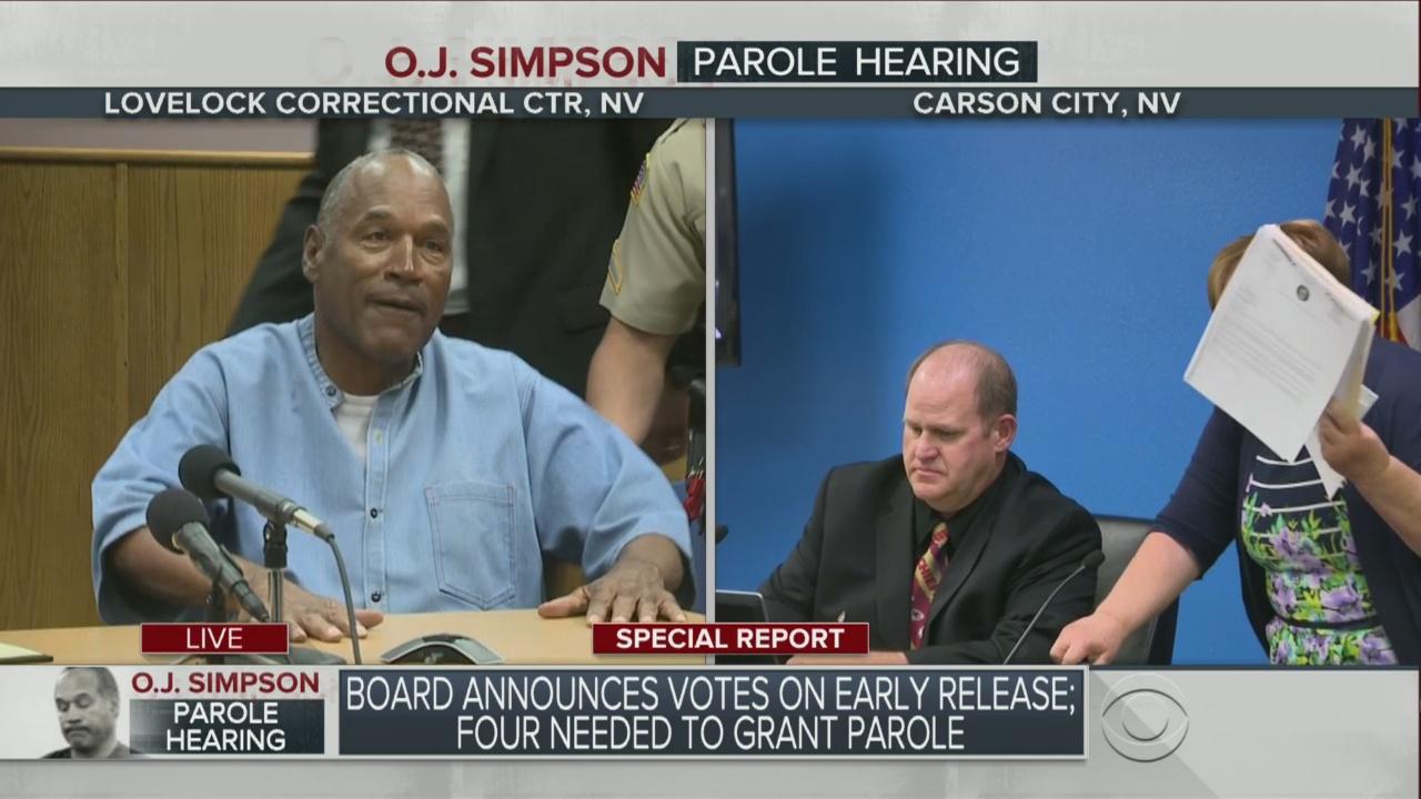 WebExtra: O.J. Simpson Granted Parole, Returning To Florida