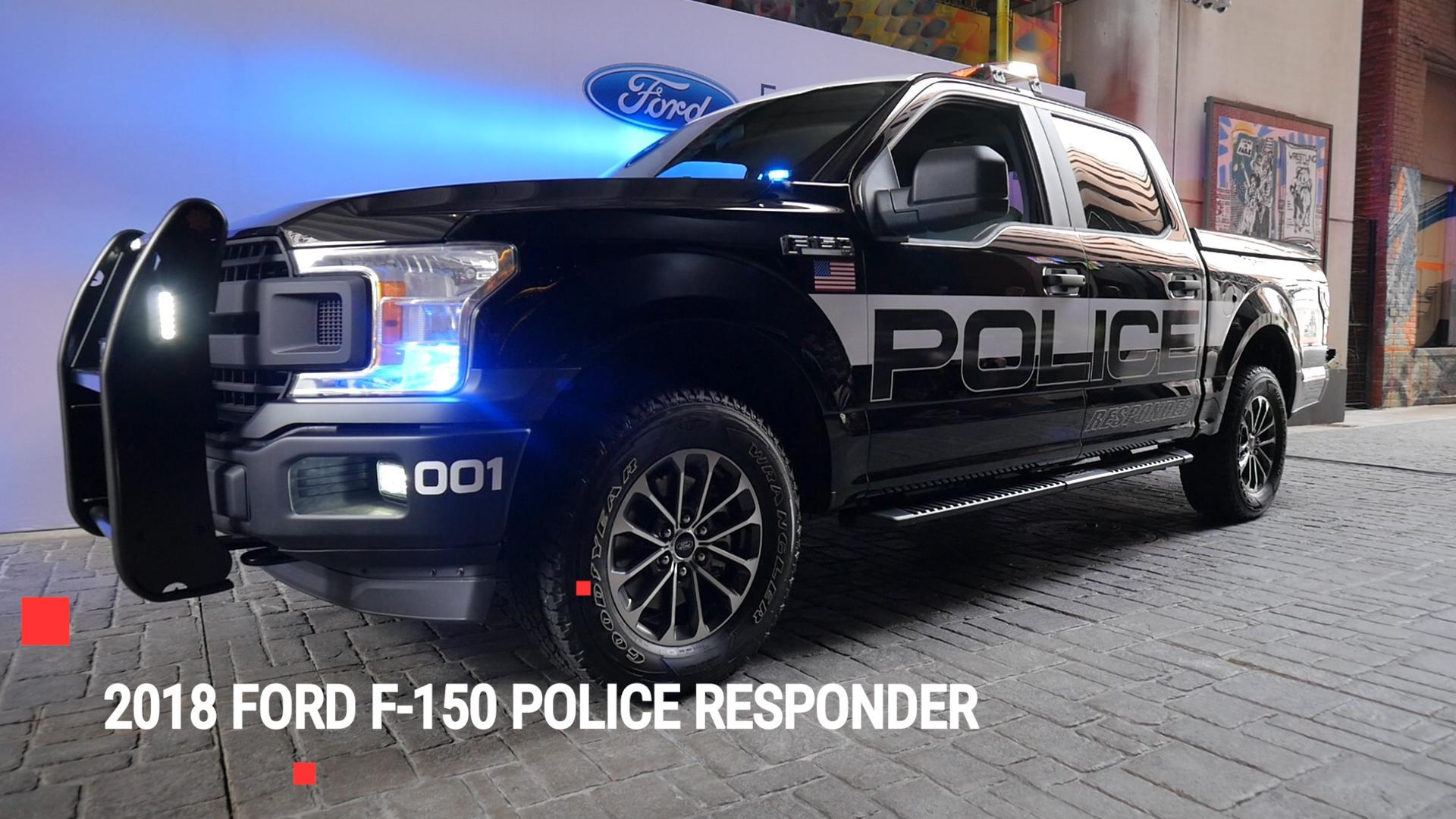 2018 Ford F150 Police Responder is Fords first pursuitrated