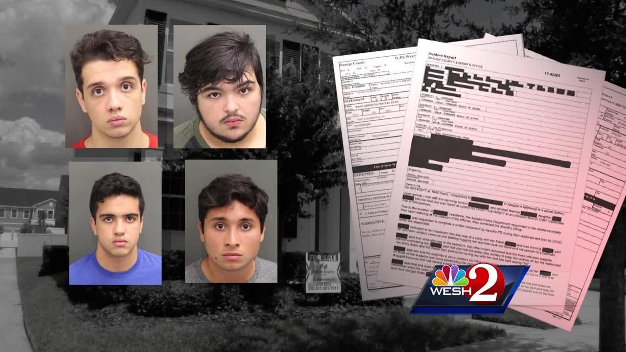 4 men accused of gang raping woman in Windermere