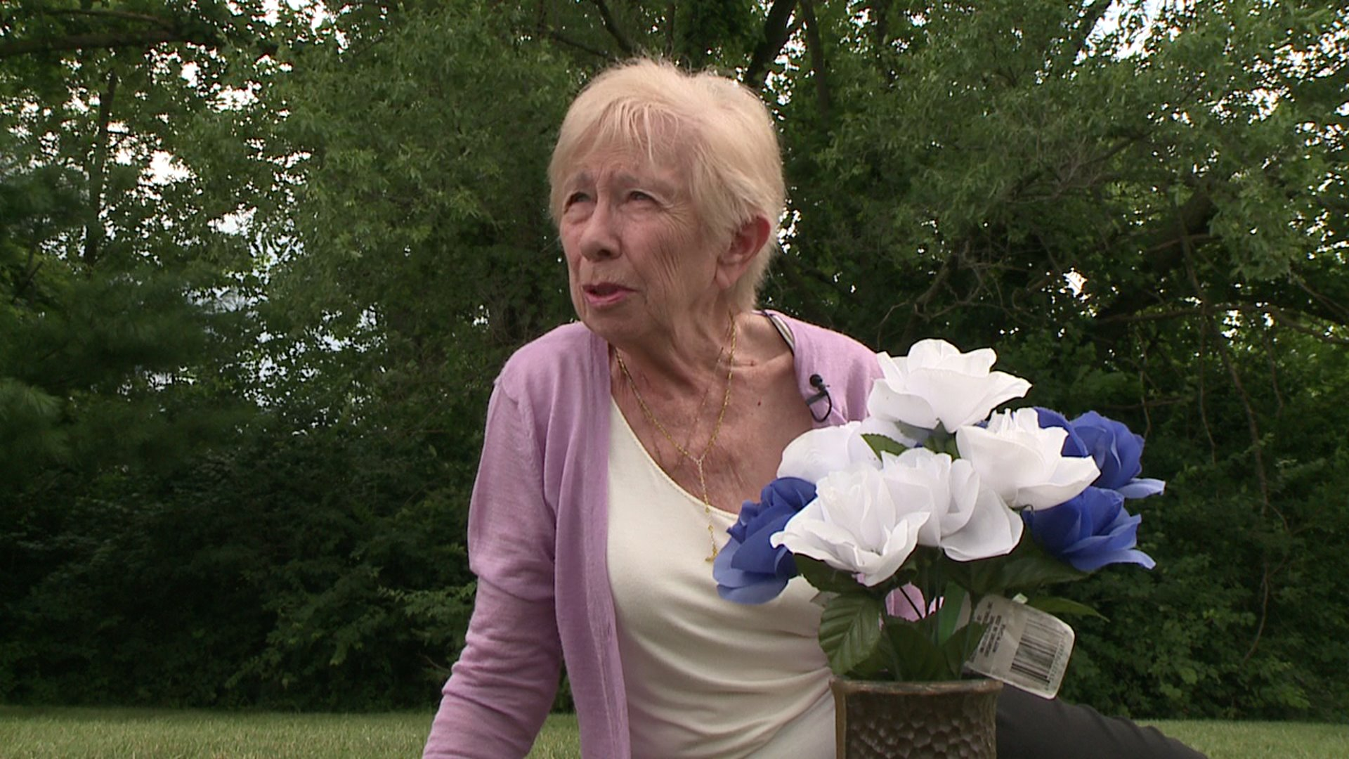 Mother of Slain Police Officer Furious Over Condition of His Gravesite