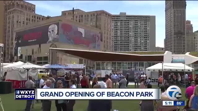 Grand opening for Beacon Park