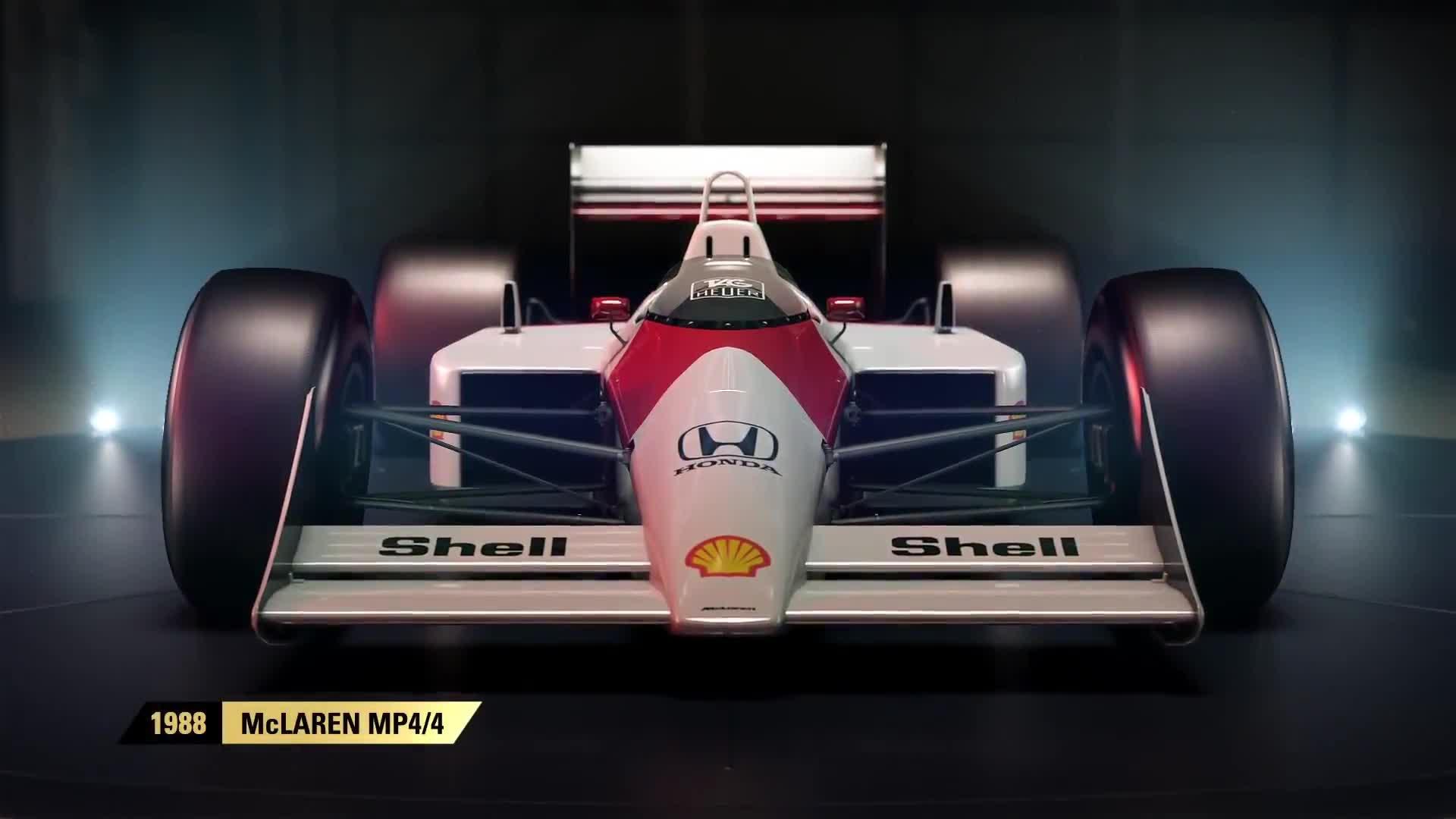 F1 2017 - Classic Cars Reveal: McLaren