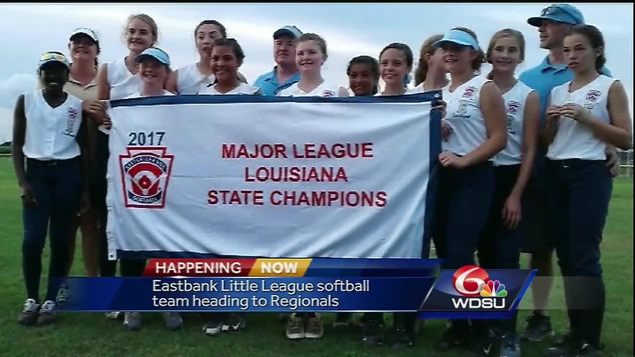Girls Rule: Eastbank Little League softball team heads to Southwest Regionals!