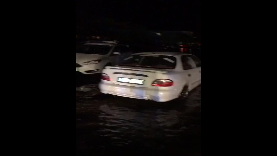 Turkey's Bodrum flooded after quake, amateur video shows