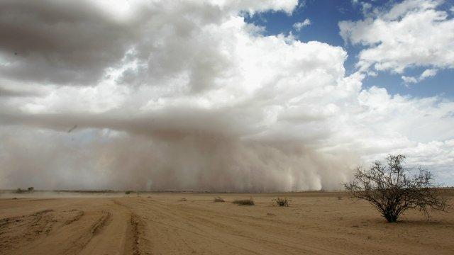 Aerosolized Fossil Fuels Might Be Shifting Rainfall Patterns