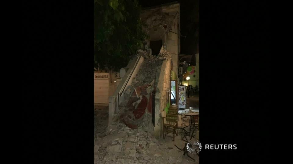 At least two dead as quake strikes off Turkish and Greek coasts
