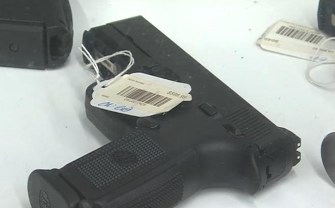 Gun sales exceeding expectations, seller sees more handguns sold