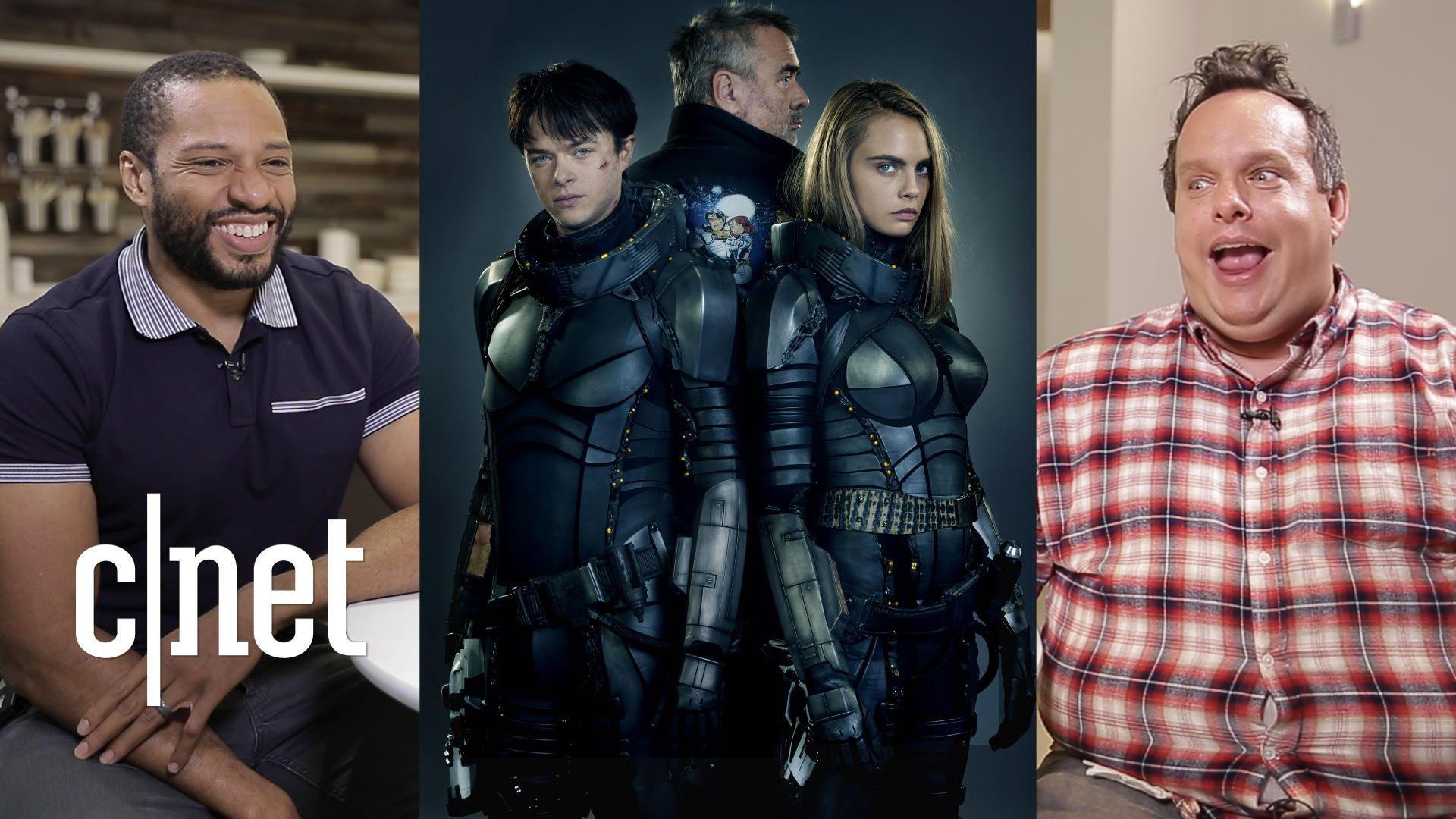 Watch CNET's biggest sci-fi nerds review the film 'Valerian'