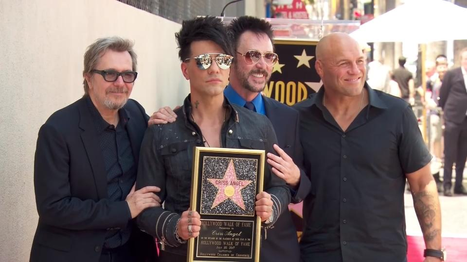 Illusionist Criss Angel given Hollywood star