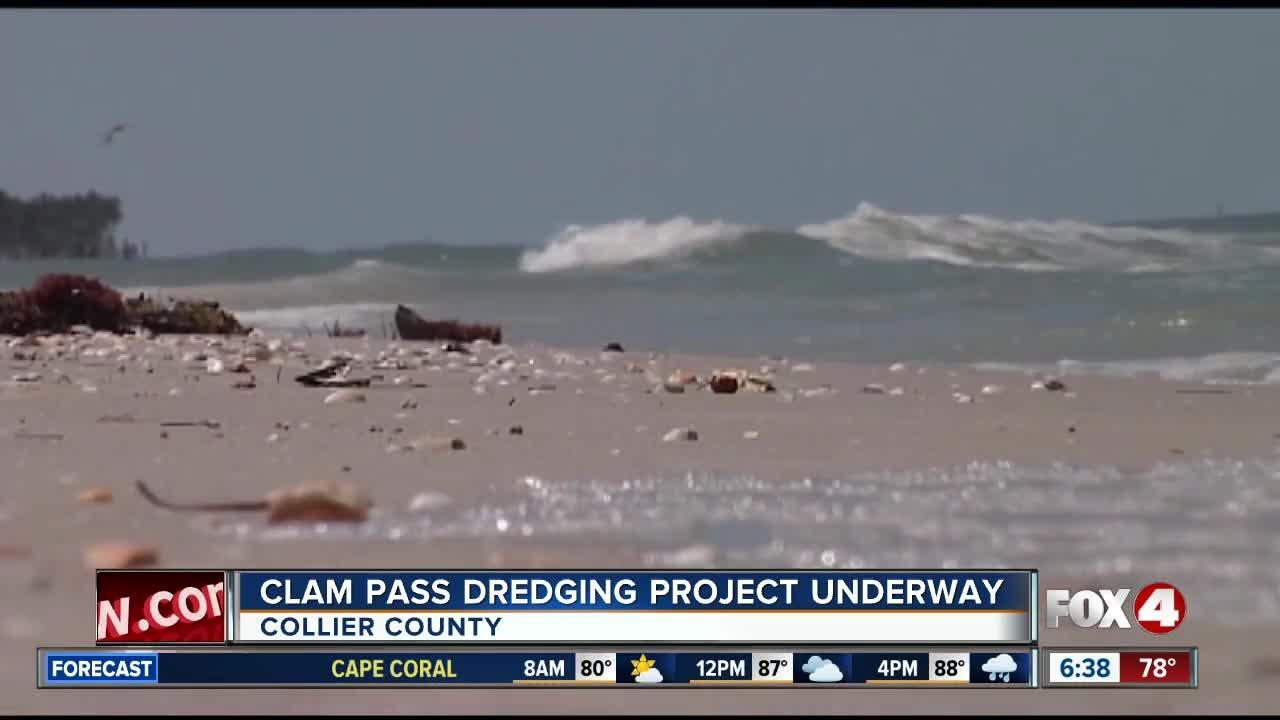 Clam Pass Dredging Project Underway in Naples