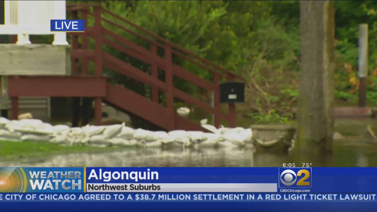 With Fox River Rising Again, More Sandbags Piling Up