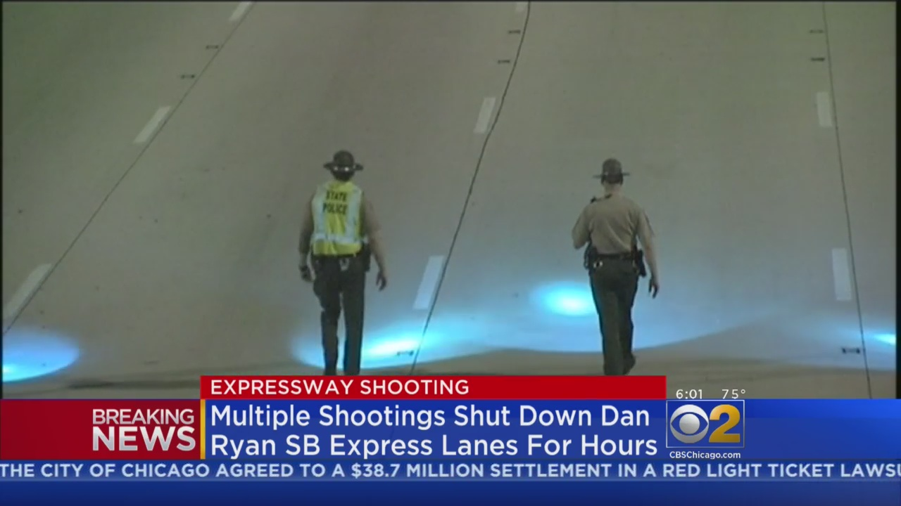2 Wounded In Dan Ryan Shooting, 3rd May Have Been Hit By Stray Bullet