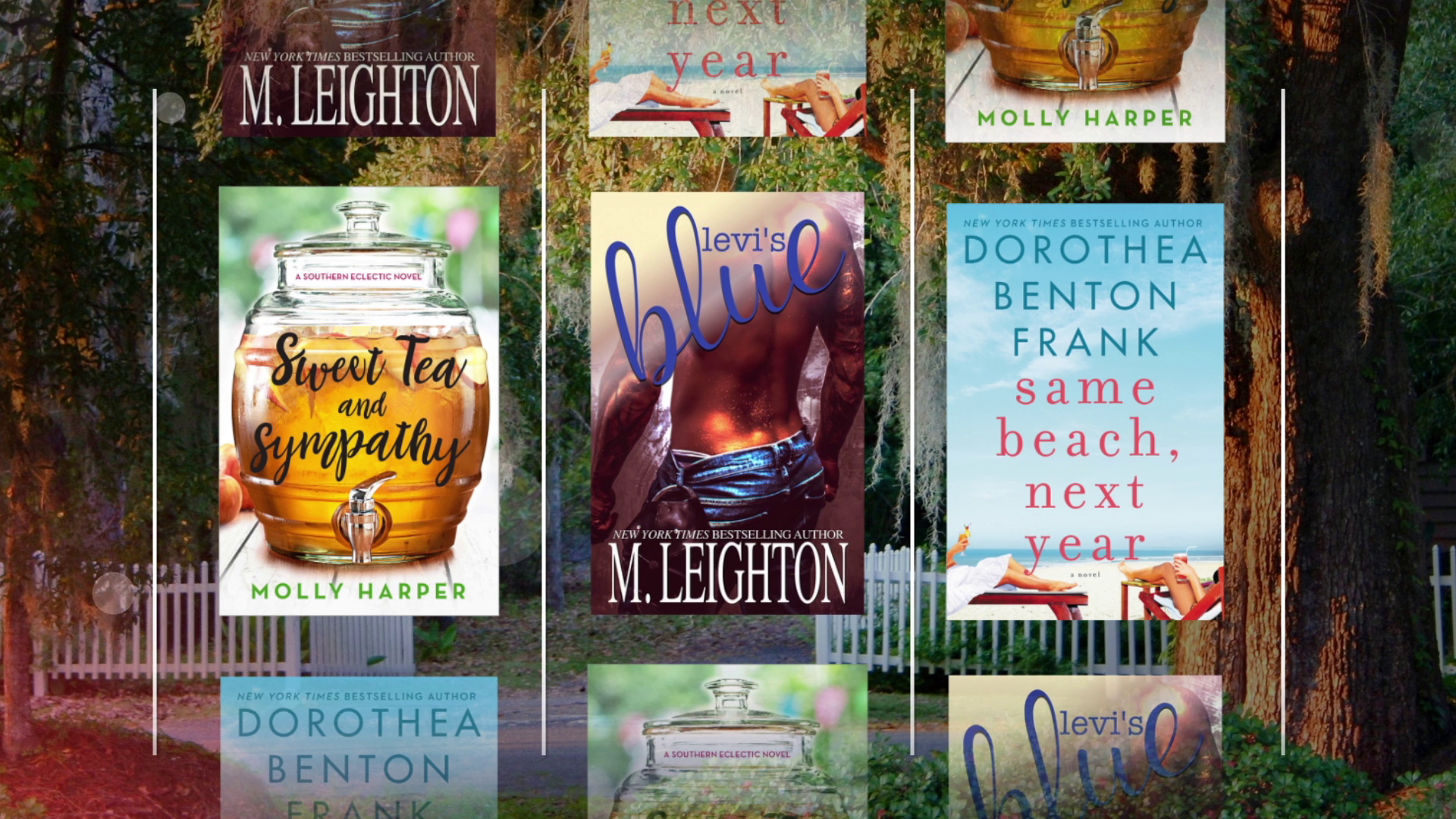 Miss Southern Charm Already? Try a Sexy Southern Romance...