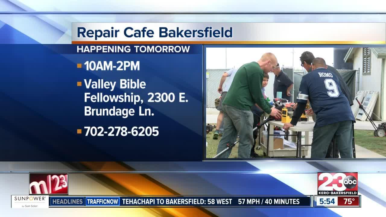 Repair Cafe on Saturday at Valley Bible Fellowship