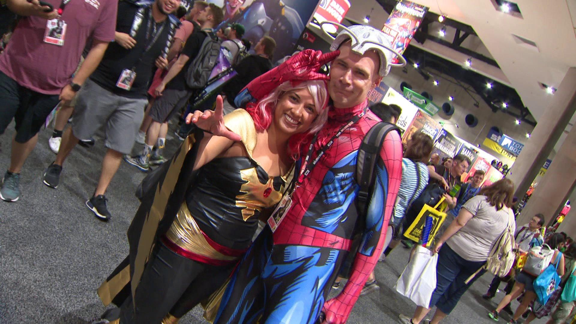Fans Escape Reality at Comic-Con San Diego 2017