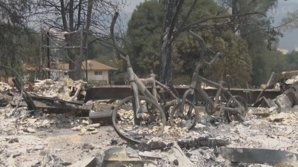 Homes destroyed, lives turned upside down by California fires