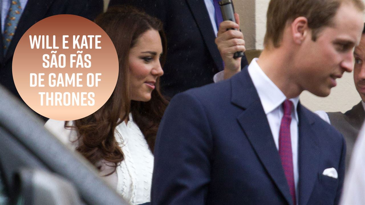 Will e Kate pedem spoilers de Game of Thrones