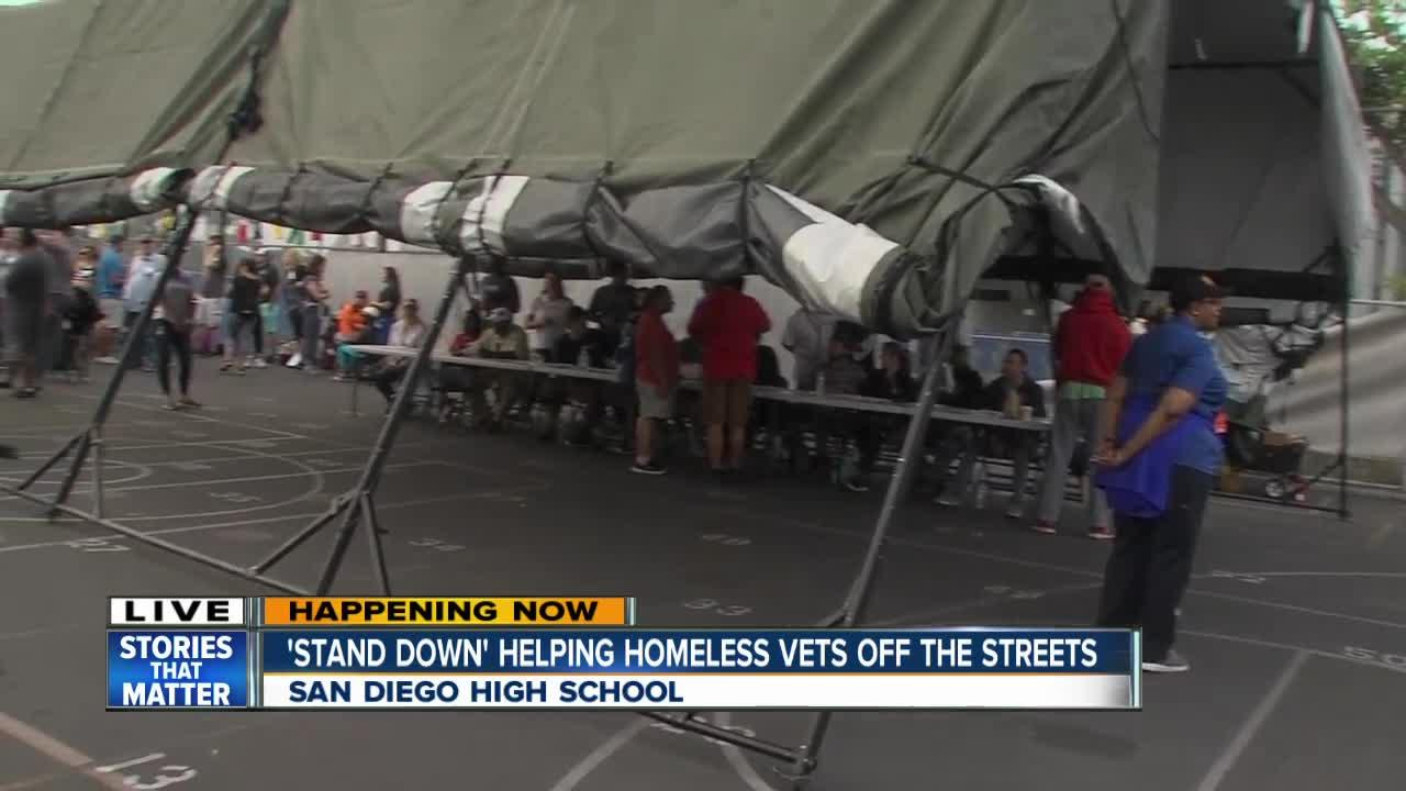Stand Down event in San Diego begins