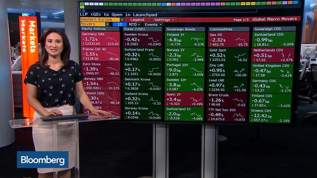 European Stocks Suffer First Weekly Loss Since June